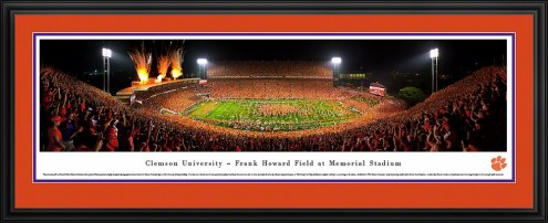 Clemson Tigers Football Panorama
