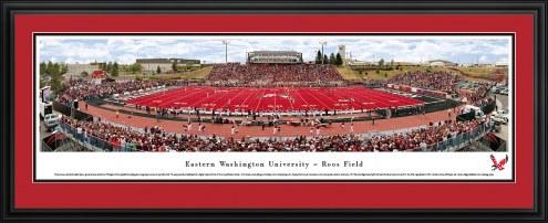 Eastern Washington Eagles 50 Yard Line Stadium Panorama