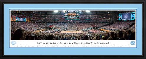 North Carolina Tar Heels 2017 NCAA Basketball Champions Panorama