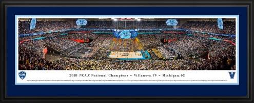 Villanova Wildcats 2018 NCAA Basketball Champions Panorama