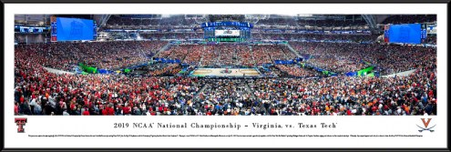 Virginia vs. Texas Tech 2019 NCAA Championship Game Panorama