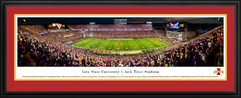 Iowa State Cyclones 50 Yard Line Stadium Panorama