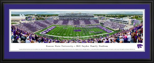 Kansas State Wildcats Football Stripe the Stadium Panorama