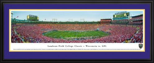 LSU Tigers Lambeau Field College Classic Panorama