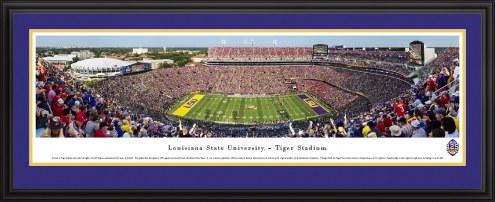 LSU Tigers 125th Anniversary Football Panorama