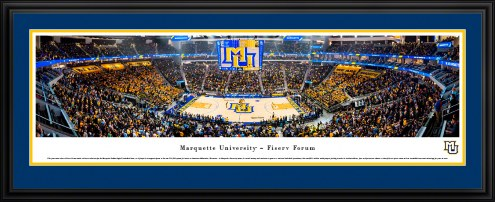 Marquette Golden Eagles 1st Game at Fiserv Forum Basketball Panorama