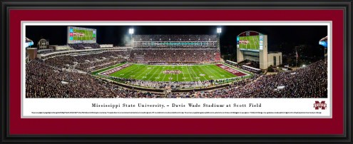 Mississippi State Bulldogs Egg Bowl Football Panorama