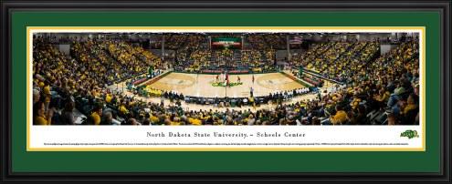 North Dakota State Bison Basketball Panorama