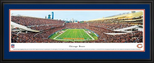 Chicago Bears End Zone Panorama