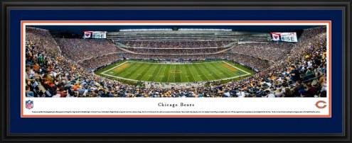 Chicago Bears 50 Yard Line Stadium Panorama