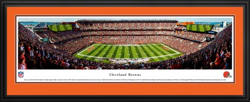 Cleveland Browns Football Panorama