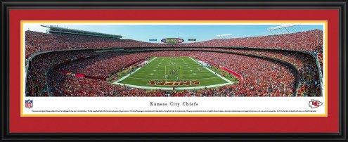 Kansas City Chiefs End Zone Panorama