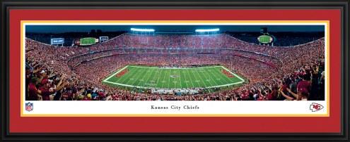 Kansas City Chiefs Night Football Panorama