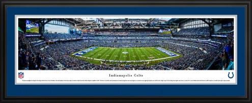 Indianapolis Colts 50 Yard Line Stadium Panorama