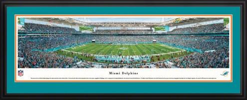 Miami Dolphins 50 Yard Line Stadium Panorama