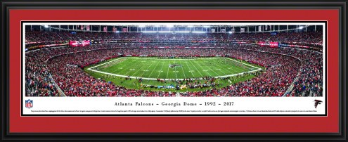 Atlanta Falcons Final Game at Georgia Dome Panorama