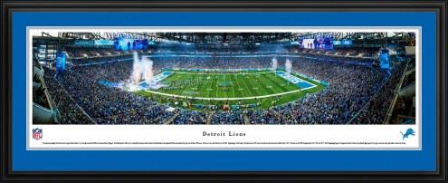 Detroit Lions Football Panorama