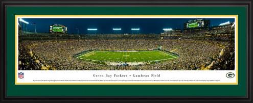 Green Bay Packers 50 Yard Line Stadium Panorama