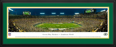 Green Bay Packers 50 Yard Line Stadium Panorama