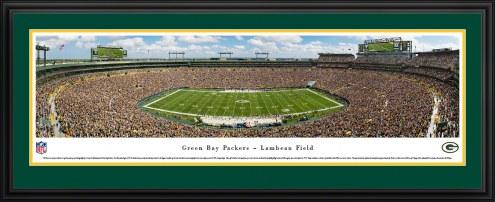Green Bay Packers Football Panorama