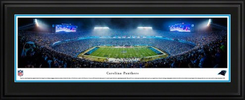 Carolina Panthers 50 Yard Line Stadium Panorama