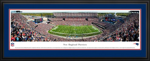 New England Patriots Football Panorama