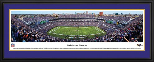 Baltimore Ravens 50 Yard Line Stadium Panorama