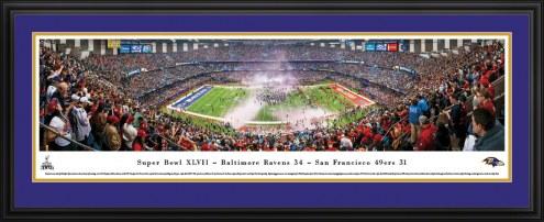 Baltimore Ravens 2013 Super Bowl Panorama