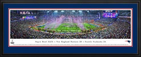 New England Patriots 2015 Super Bowl Panorama