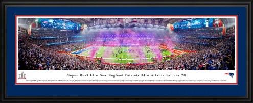 New England Patriots 2017 Super Bowl Champions Panorama
