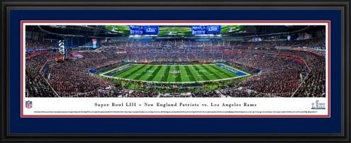 New England Patriots vs. Los Angeles Rams Super Bowl LIII Panorama