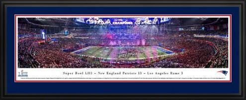 New England Patriots 2019 Super Bowl Champions Panorama