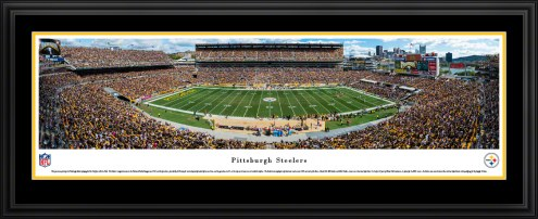 Pittsburgh Steelers 50 Yard Line Stadium Panorama