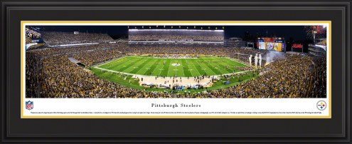 Pittsburgh Steelers Night Football Panorama
