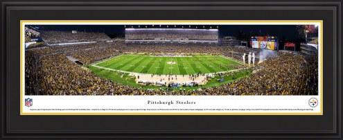 Pittsburgh Steelers Night Football Panorama
