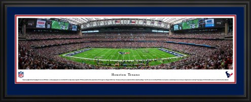 Houston Texans 50 Yard Line Stadium Panorama