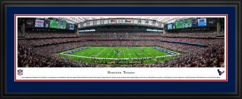 Houston Texans 50 Yard Line Stadium Panorama
