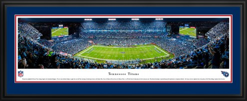 Tennessee Titans 50 Yard Line Stadium Panorama