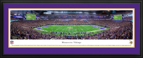 Minnesota Vikings 1st Game at US Bank Stadium Panorama