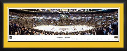 Boston Bruins Center Ice Panorama