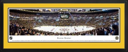 Boston Bruins Center Ice Panorama