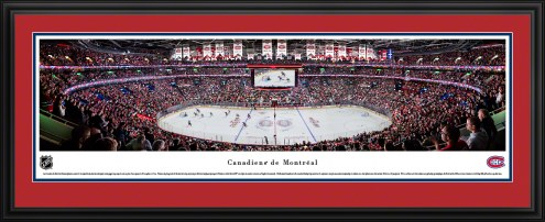 Montreal Canadiens Center Ice Panorama