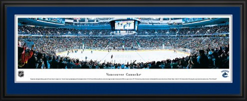 Vancouver Canucks Hockey Panorama