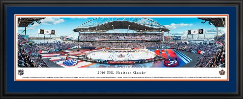Edmonton Oilers NHL Heritage Classic Panorama