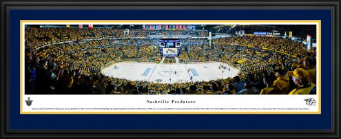 Nashville Predators Center Ice Panorama