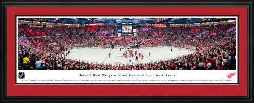 Detroit Red Wings Final Game at Joe Louis Arena Panorama
