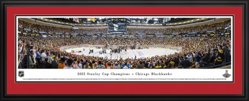 Chicago Blackhawks 2013 Stanley Cup Champs Panorama