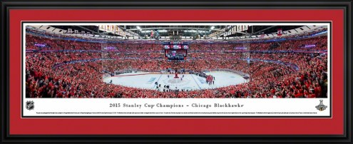 Chicago Blackhawks 2015 Stanley Cup Champs Panorama