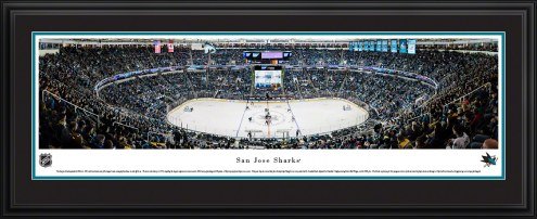 San Jose Sharks Center Ice Panorama