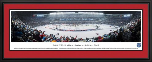 Chicago Blackhawks vs. Pittsburgh Penguins 2014 Stadium Series Panorama